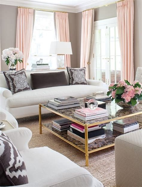 Pink Living Room Accessories by Pink Modern Living Room Decorating Designs