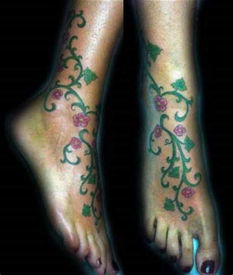 january 2010 foot tattoos design