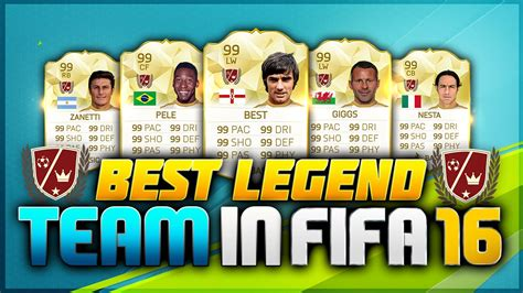 legend the best fifa 16 the best legend squad builder new legends