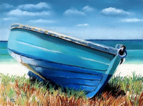 old boat blue book small blue boat and painting giveaway sold ria hills
