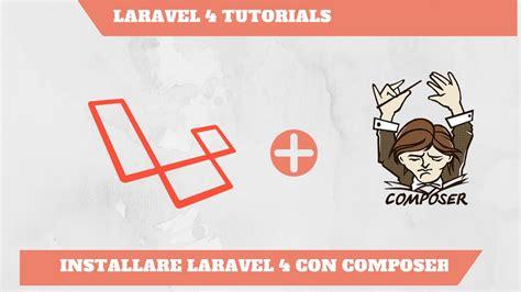 tutorial laravel 4 ecommerce ita installare laravel 4 con composer e xampp