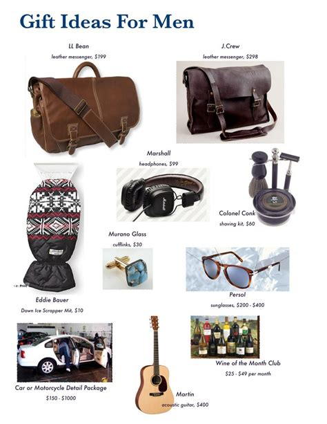 gift ideas for men gift ideas for men from a man s perspective part 1 the