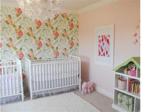 green wallpaper nursery peony wallpaper anthropologie baby room wallpapersafari