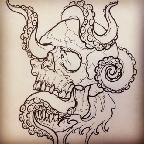 skull tattoo outline designs the gallery studio outline for tomorrow on my