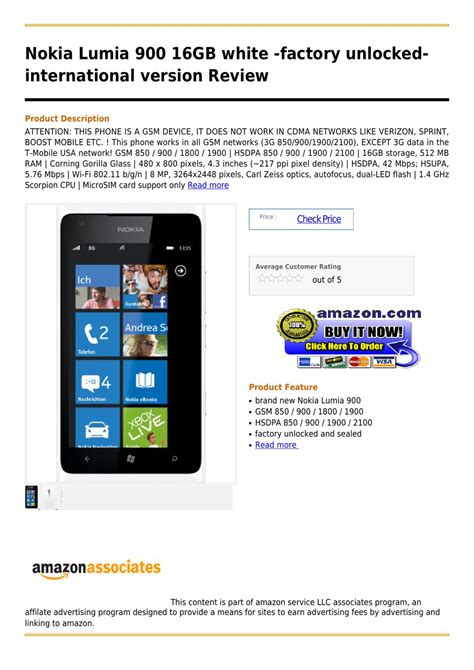 amazon nokia lumia 930 international unlocked version nokia lumia 900 16gb white factory unlocked