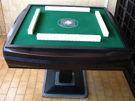 automatic mahjong table auto shuffle and lay mahjong