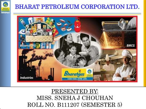 Bharat Petroleum For Mba by A Brief Summary About Bharat Petroleum Corporation Limited