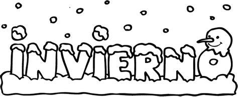 imagenes infantiles invierno para colorear dibujo frio invierno para colorear imagui