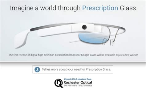 google glass 1 500 to buy but only 80 to make google glass to get prescription lens support within a few