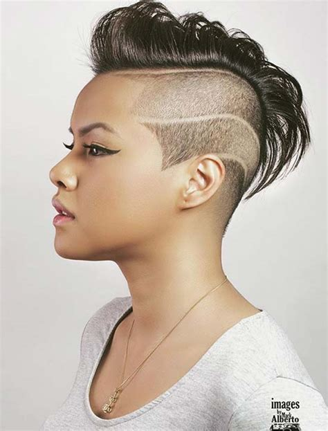 Hairstyles For 45 With Hair by 45 Undercut Hairstyles With Hair Tattoos For