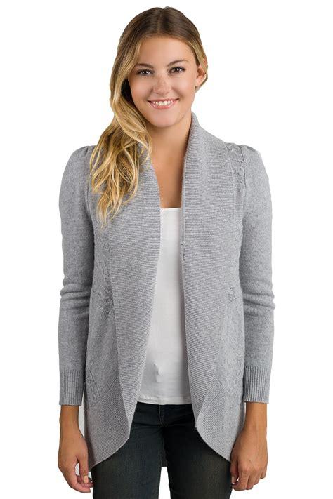 grey cardigan sweater j