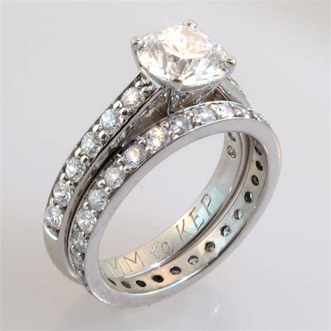 Verlobungsringe Set by Unique Wedding Ring Sets Wedding Ideas