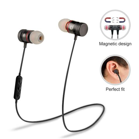 Headset Earphone supology magnet sport in ear bluetooth earphone earpiece stereo headset wireless