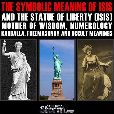 secret and esoteric currents in the history of religions books the symbolic meaning of and the statue of liberty