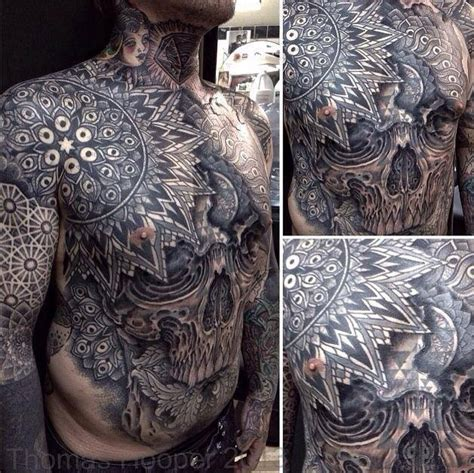 tattoo 3d full body best chest tattoos jaw dropping ink masterpieces