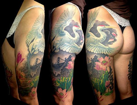 99 spicy thigh tattoos and designs for girls