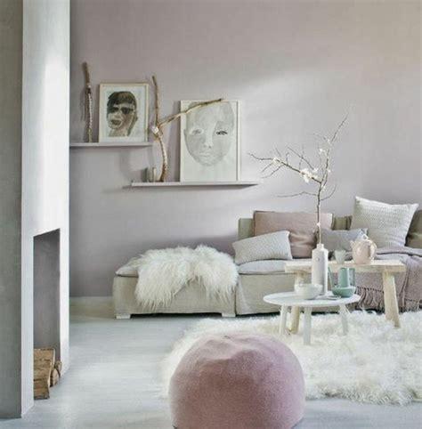 wohnzimmer deko rosa
