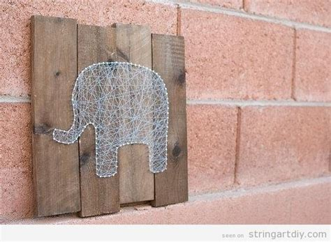 String Wall Patterns - wall string string diy learn to make your own