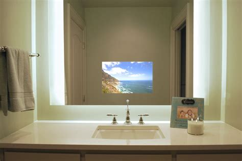 tv in bathroom mirror cost view our brands for your next indiana smart home project