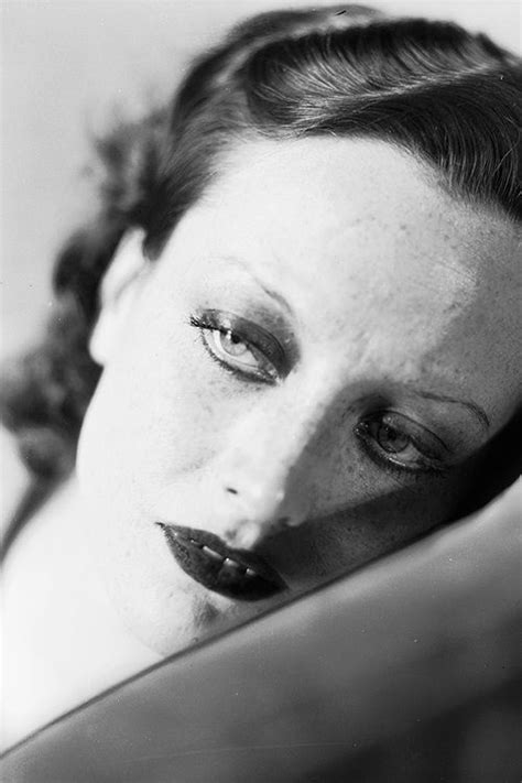 made myself some freckles today by milleviola on joan crawford photographed by george hurrell 1928 rare
