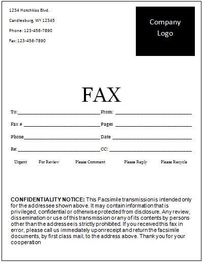 fax cover sheet template free printable fax cover sheet
