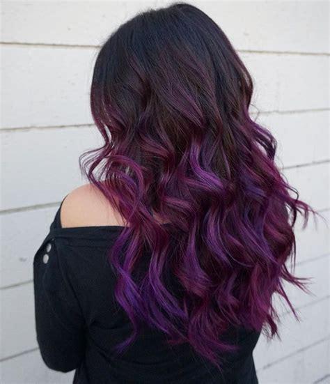 brunette hair gray riots 17 best ideas about purple balayage on pinterest plum