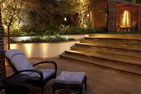 Garden Patio Lighting Garden Outdoor Wall Lighting Festive Garden Lighting Gardens Lighting Design