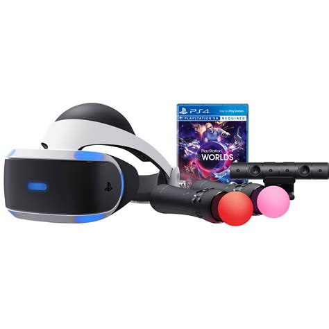 Vr Ps3 sony playstation vr vr worlds bundle ps4 3002147 b h photo