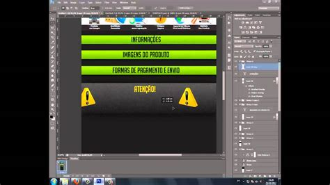 templates for photoshop cs6 tutorial photoshop cs6 template mercadolivre parte 4