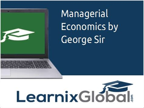 Managerial Economics Lecture Notes Mba by Managerial Economics Mba Lecture By