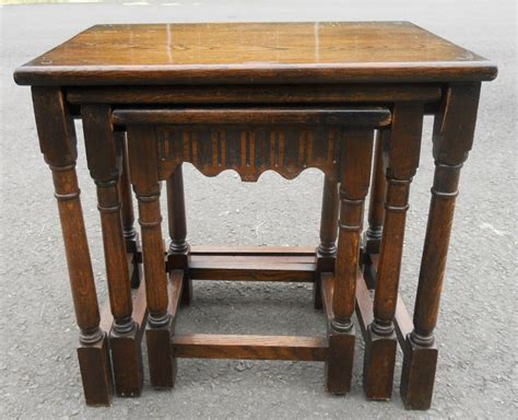 Antique Reproduction Coffee Tables Oak Nest Reproduction Coffee Tables