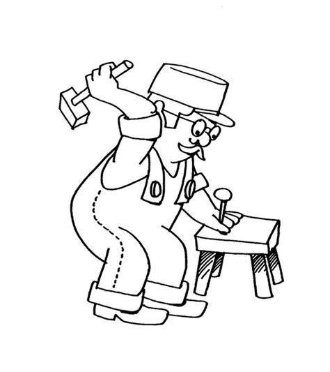 imagenes para colorear oficios y profesiones dibujos de profesiones para ni 209 os 174 para colorear e imprimir