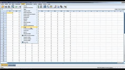Manual De Spss 22 | spss video tutorial ibm spss statistics curso de spss