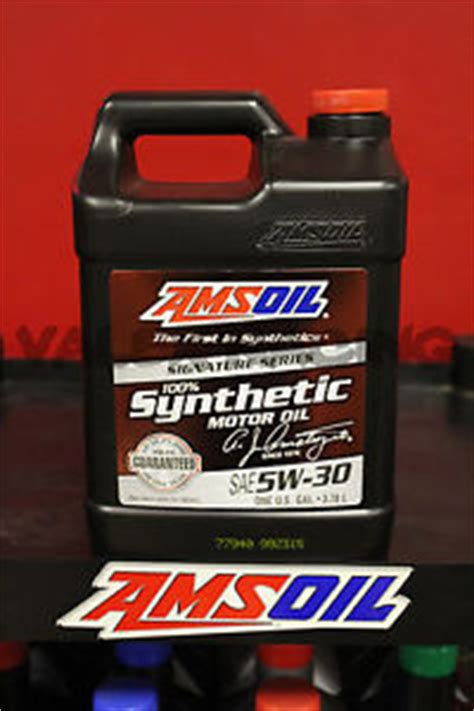 Amsoil Signature Series 5w30 Liter amsoil signature series 5w 30 5w30 5 w 30 synthetic motor 1 gallon ebay