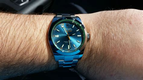 Ultimate Replica Rolex Milgauss Blue Electric rolex z blue milgauss