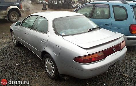 Toyota Corolla Type 1998 Toyota Corolla Ceres G Type Related Infomation