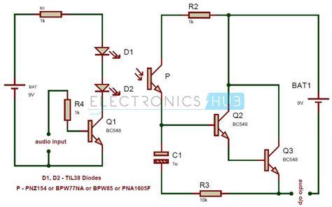 Wifi Receiver Circuit Diagram Circuit And Schematics Diagram Simple Ir Audio Transmitter And Receiver Circuit