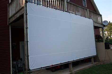 backyard movie screen homemade outdoor movie screen luv this for the home