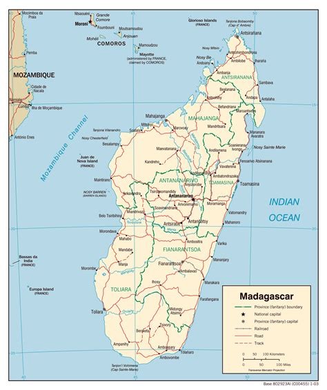 maps  madagascar map library maps   world
