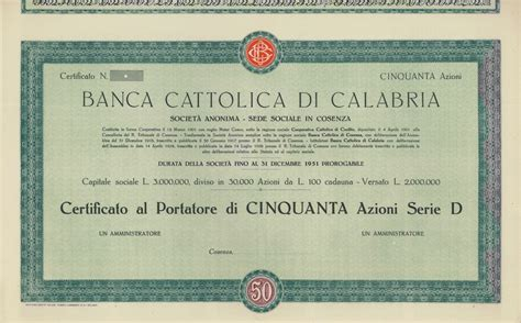 banca cattolica banca cattolica di calabria scripomuseum