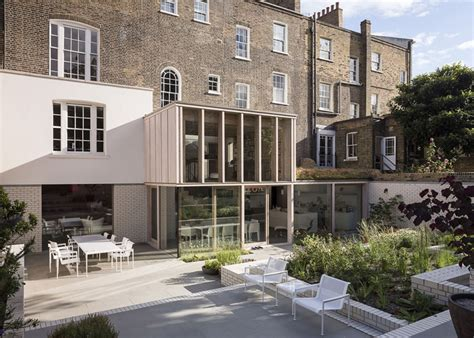 london house design old london home gets a fresh glass addition modern house