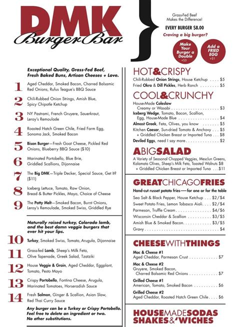 Top Bar Burger Menu by 16 Best Images About Bar Menu On Restaurant