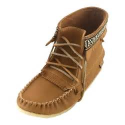 moccasins boots for s genuine moosehide leather moccasin boots with