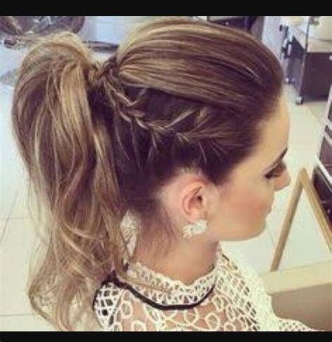 model hairstyles for ponytail hairstyles for prom s 25 best ideas about high ponytail braid on