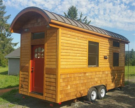 small homes on wheels vardo style tiny house on wheels for sale in banks oregon