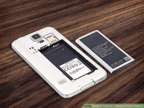 Cell Phone Baterry Wellcomm I8260 how to choose a mobile phone battery 15 steps with pictures
