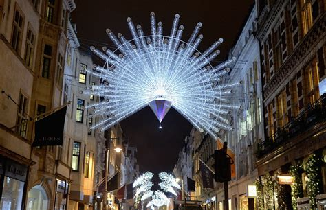 london lights up for christmas in pictures
