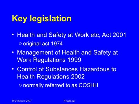 Mba In Healthare Management And Safety by Management System Of Health And Safety