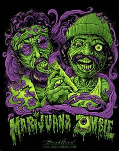 Bud Light T Shirt Cheech And Chong Zombies Speed Painting Turtorial