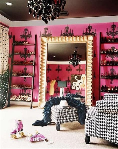 pink and white dressing room pink and black dressing room for the home
